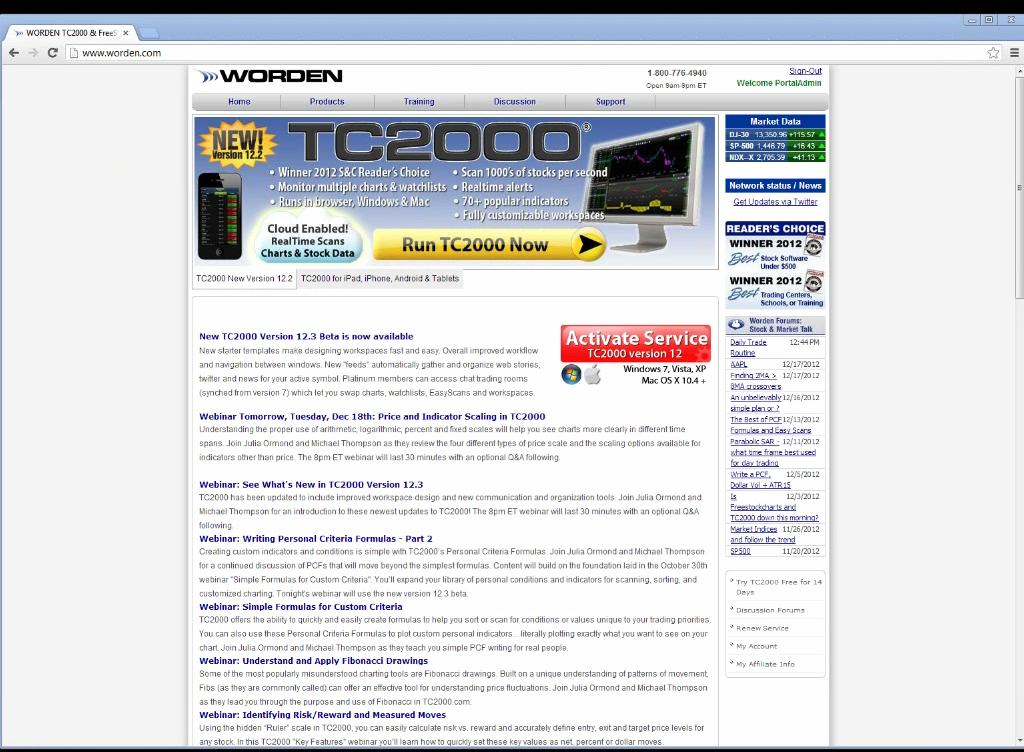 TC2000 Video - Webinar - Price & Indicator Scaling in TC2000